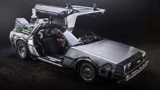 a trash fueled delorean just like in back to the future