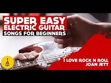 Easy Electric Guitar Songs For Beginners I
