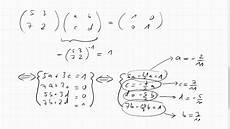 05f 4 inverse matrix einer 2x2 matrix
