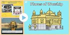 places of worship worksheets ks2 16010 the golden temple information powerpoint ks2 resources