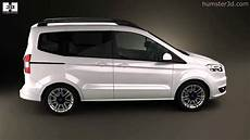 ford tourneo courier 2013 by 3d model store humster3d