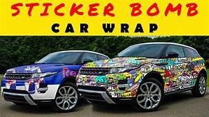 Photoshop 2018 How To Wrap Car Stickerbomb Range Rover