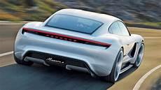 2019 porsche mission e electric sport car