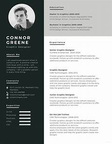 free experience graphic designer resume cv template in photoshop psd creativebooster