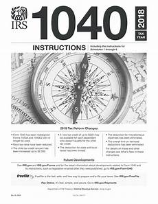 irs tax instructions fillable irs instructions 1040 2018 2019 online pdf template