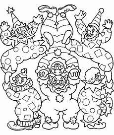 Ausmalbilder Karneval Mandala Ausmalbilder Fasching Clown Malvorlagentv