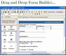 free web form builder software pagebreeze html editor
