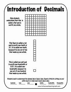decimals base ten blocks worksheets 7074 classroom freebies using base 10 blocks to introduce decimals