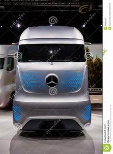 mercedes benz future truck ft 2025 editorial photography