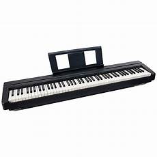 yamaha p series p45b 88 key digital piano in black with