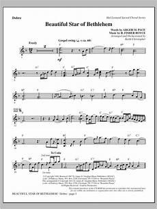 beautiful star of bethlehem dobro sheet music direct