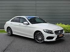 C Klasse Mercedes - mercedes c class c200 amg line premium plus white 2014