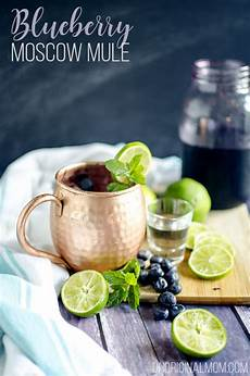 blueberry moscow mule cocktail recipe unoriginal
