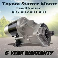 starter motor for toyota landcruiser hj60 hj61 hj47 hj75 eng 2h 12ht diesel 4 0l ebay