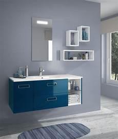 meuble salle de bain bleu meuble sous vasque seducta 60 cm 2 tiroirs bleu envie de