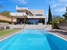minimalist villa bbq of palma mallorca heated pool