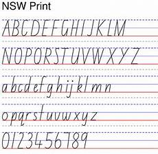 nsw handwriting worksheets free 21788 learn different font improve handwriting with worksheet