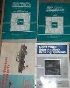 service and repair manuals 1991 ford f series seat position control 1991 ford f 150 250 f250 350 bronco truck service shop repair manual set 91 x ebay