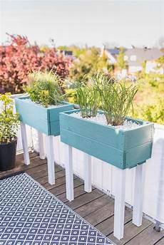 Pflanzkübel Als Sichtschutz - diy pflanzk 252 bel als sichtschutz f 252 r den balkon leelah