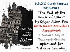 the fall of the house of usher lesson plans the fall of the house of usher edgar allan poe igcse