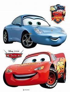 cars lightning mcqueen und sally sticker im