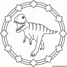 Ausmalbilder Dinosaurier Fleischfresser Tyrannosaurus Rex Dinosaurier Mandala Ausmalbild