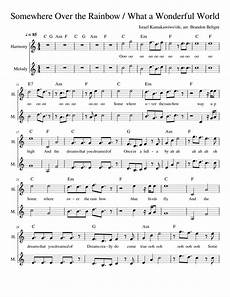 somewhere over the rainbow sheet music for synthesizer download free in pdf or midi