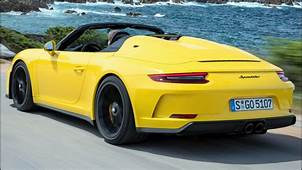 2019 Porsche 911 Speedster  Pure Driving Pleasure YouTube