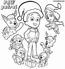 paw patrol coloring pages coloring pages to and