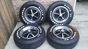 FOR SALE  14 Magnum Wheels With Goodyear Eagle ST Tires