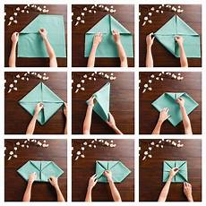 comment plier des serviettes de table en papier 1001 id 233 es cr 233 atives de pliage de serviette pour mariage