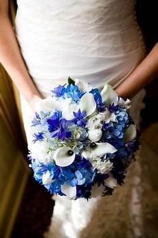 royal blue blooms bouquet inspiration wedding ideas