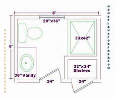 Bathroom Floor Plans 6 X 8 bathroom floor plans bathroom design ideas