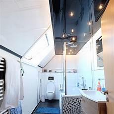 Decke Im Badezimmer - hochglanz decke im badezimmer plameco kundenbeispiele