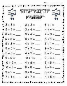 winter addition practice pack 3 levels in 2020 with images addition practice math