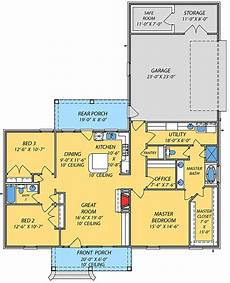 house plans with safe room plan 83875jw acadian house plan with safe room in 2020