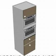 colonne four et micro onde encastrable 31610 colonne four micro ondes 1porte et 2 tiroirs meubles de cuisine ile de