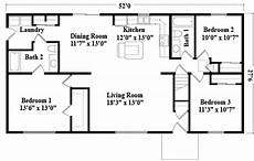 small rancher house plans 24 x 52 ranch house plans click on a picture to view a