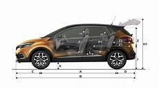 dimensions voitures renault dimensions captur cars renault uk