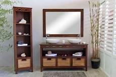 meuble pour vasque salle de bain meuble salle de bain teck java 140 pour simple ou vasque meubles en teck