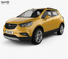 Opel Mokka X 2017 3d Model Vehicles On Hum3d