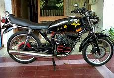 Rx King Modifikasi Minimalis by Modifikasi Yamaha Rx King Standar Minimalis