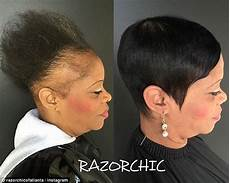 atlanta hairstylist shares videos of clients suffering from hair loss due to weaves daily mail