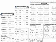 subtraction exchange worksheets 10070 white maths year 4 addition and subtraction of two 4 digit numbers exchanging