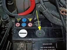 elektrik batterie magisches auge einbauort startproblem