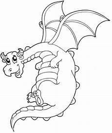 ausmalbilder fantasie drachen kostenlose malvorlage m 228 rchen fliegender drache zum ausmalen