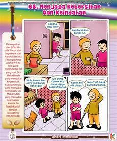 Komik Adab Menjaga Kebersihan Komik Komik Anak
