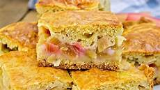 Rhabarberkuchen Mit Pudding Und Streusel - rhabarberkuchen rezept mit vanillepudding und streuseln