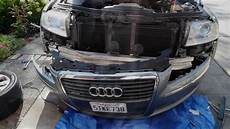 remove audi a8l d3 front bumper cover revised