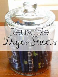 up cycled reusable dryer sheets far from normal